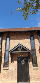 Brook View (Plot 1) front porch 15.05.2020