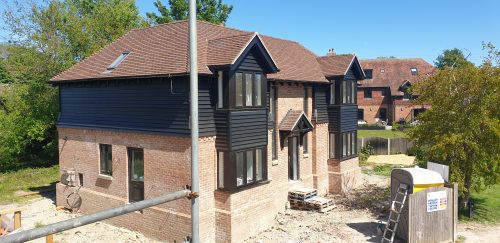 Brook View (Plot 1) south-westerly aspect 15.05.2020