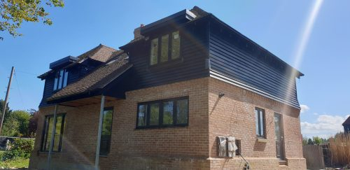 Brook View (Plot 1) north-westerly aspect 15.05.2020