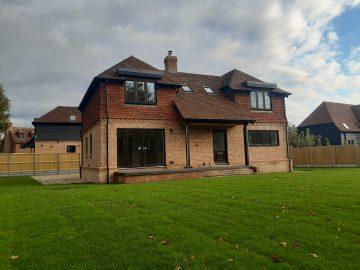 Rear shot of Woodvale House 16.10.2020